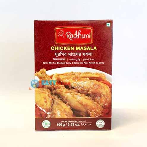 Radhuni Chicken Masala-100g-easy-bazar-france