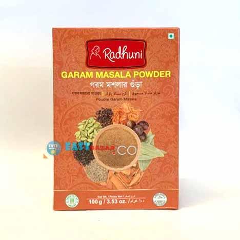 Radhuni Garam Masala Powder 100g-easy-bazar-france