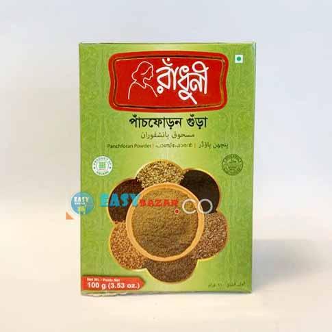 Radhuni Pach Foron Gura 100g-easy-bazar-france