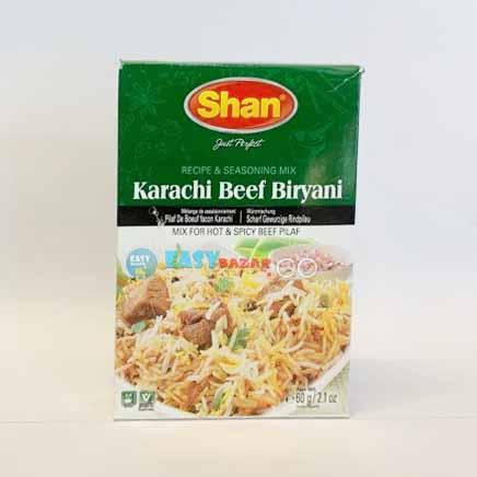 Shan Karachi Beef Biryani 50g-easy-bazar-france