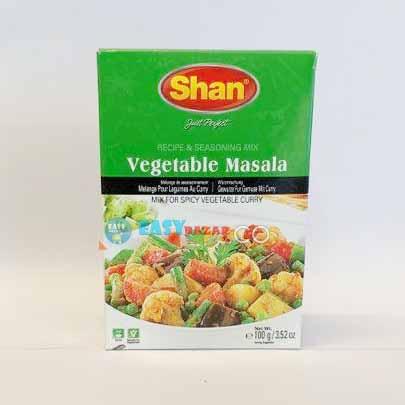 Shan Vegetable Masala 50g